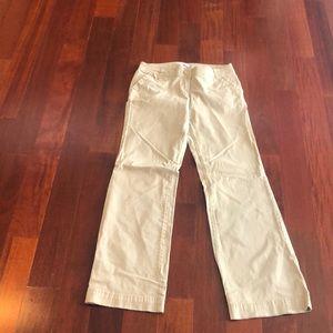 NY & Company khaki / tan pants women's size 4